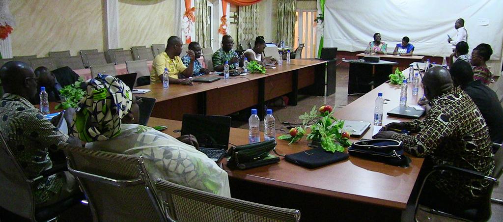 Atelier de formation et d'élaboration du Plan Participatif de Mobilisation des Ressources de l'ASCINB.