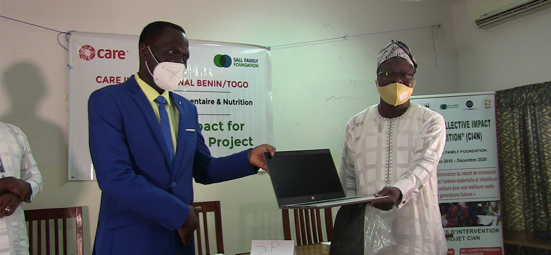 Care International Bénin/Togo : Cérémonie de remise de matériel à ASCINB.